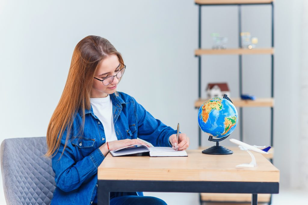 Write down any new phrases or vocabulary you learn. It would be even more beneficial to keep a diary in English to get used to expressing your thoughts in the language.