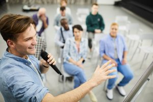 Public speaking is a significant skill that students, employees, business owners, and politicians need to master. So no matter what career you are going for, enhance this skill by following simple steps below.