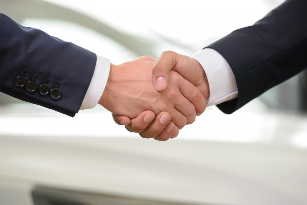 A firm handshake can say a lot about you and affects other's first impression positively.
